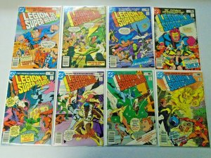 Legion of Super-Heroes Comic Lot (2nd Series) #259-266 8 Diff Avg 8.0 VF (1980)