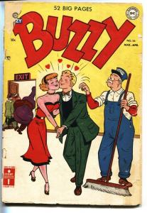 Buzzy #36 1951- Teen Humor- DC Golden Age G
