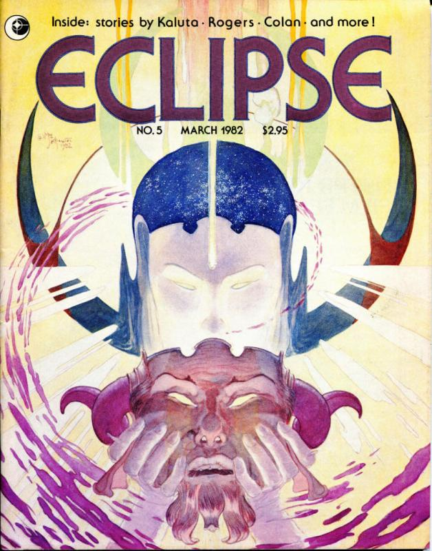ECLIPSE Magazine #5 6 7, VF, Paul Gulacy, Tom Sutton, Kaluta, 1981, 3 issues