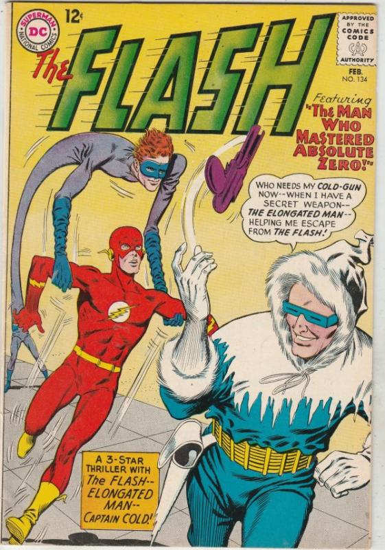 Flash, The #134 (Feb-63) VF+ High-Grade Flash