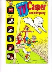 TV Casper and Company #31 (Apr-71) VF/NM High-Grade Casper, Spooky