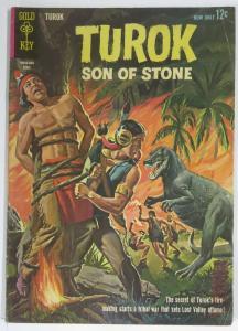 TUROK SON OF STONE (Gold Key, 4/1963) 32 GD detached CF COMICS BOOK