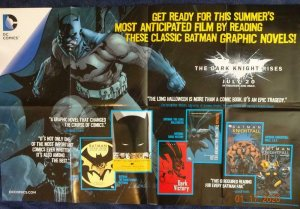 DARK KNIGHT RISES Promo Poster, 22 x 34, 2012, DC  Unused more in our store 499