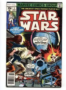 STAR WARS #5-1977- Darth Vader  VF/NM comic book