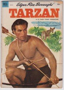 Tarzan #42 (March 1953) GD/VG Dell