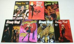 Honey West #1-7 VF/NM complete series - trina robbins - sexy noir set lot A