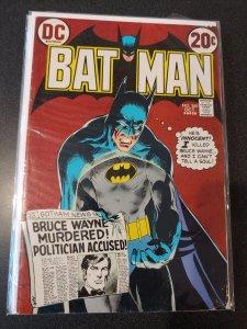 BATMAN #245 - Art by NEAL ADAMS! - 1st PRINT! - 1972 FINE -