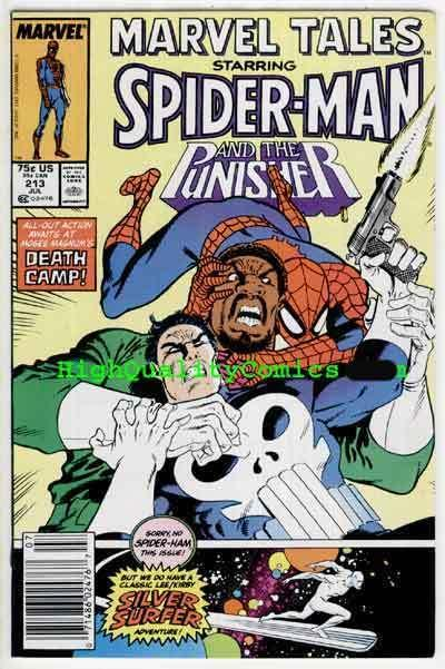 MARVEL TALES 213, NM+, Spider-man, Punisher, Silver Surfer, more in store