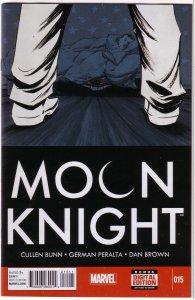 Moon Knight (vol. 5, 2014) # 15 NM Bunn/Peralta, Shalvey cover