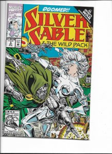 Silver Sable and the Wild Pack #5 (1992)