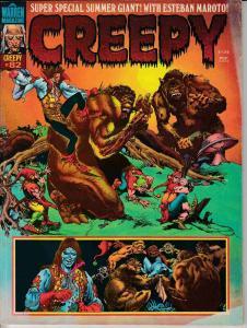 CREEPY MAGAZINE #82 (1976) MONTAGE COVER VERY GOOD (4.0)