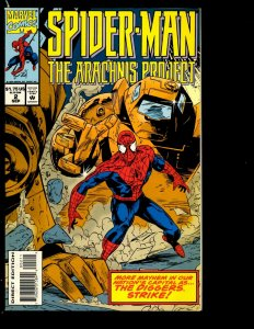 10 Comics Spider-Man Arachnis Project #2(2) 3 Web Of Doom #1(2) 2 3 +MORE J403