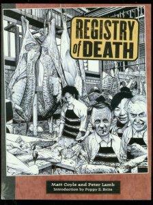 REGISTRY OF DEATH GRAPHIC NOVEL-MATT COYLE-PETER LAMB- VF