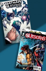 OUTSIDERS 2 for 1 Punch! Two ONE-SHOT specials from 2009 & 2010. Adam Kubert!