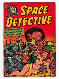 Space Detective (1951) #3 VG+, Revolt of the Robots