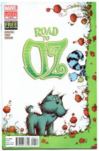ROAD TO OZ #4, VF, Wizard, Dorothy, Frank Baum, 2012, more OZ in store