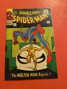 The Amazing Spider-Man #35 (1966) 2nd molten Man