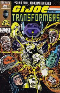G.I. Joe and the Transformers #3 FN; Marvel | save on shipping - details inside