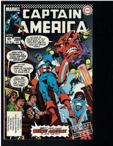 Captain America #289 (Marvel, 1984)