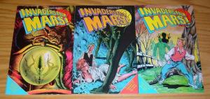 Invaders From Mars! #1-3 VF complete series adapts 1950s movie - eternity comics