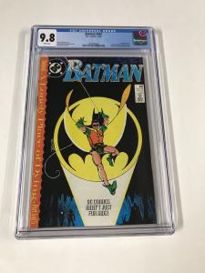 Batman 422 Cgc 9.8 White Pages Dc