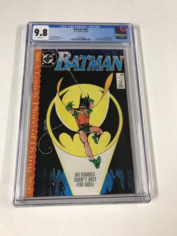 Batman 422 Cgc 9.8 White Pages Dc