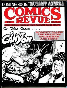 Comics Revue #94 1994-Spider-man-Steve Canyon-Caniff-Modesty Blaise-Tarzan-VF