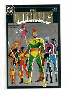 12 The Outsiders DC Comics # 1 2 3 4 8 9 10 11 12 13 14 15 Mike Barr Jim RB7