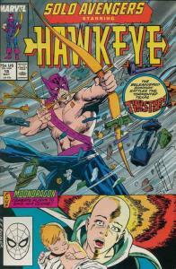 SOLO AVENGERS #18, NM, Hawkeye, Moondragon, Marvel, 1987 1989 more in store
