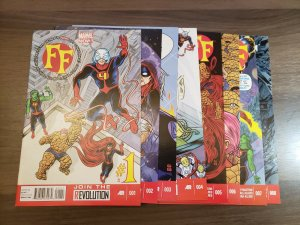 FF (Marvel 2012) #1,2,3,4,5,6,7,8   Matt Fraction Mike + Lee Allred Karl Kesel