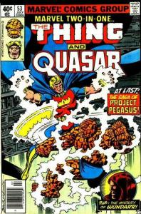 Marvel Two-In-One (1974 series) #53, VF- (Stock photo)