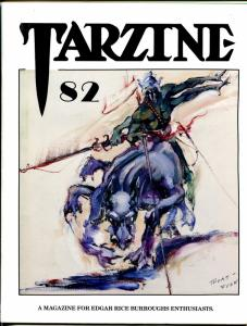 Tarzine #82 1992-Fanzine for collectors of Tarzan and ERB memorabilia-VF