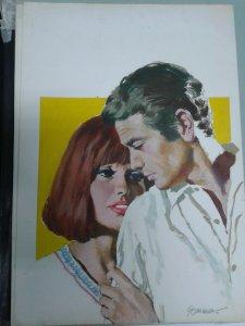 Original en color de Manfred Sommer (dibujante de Frank Cappa) modelo numerad...