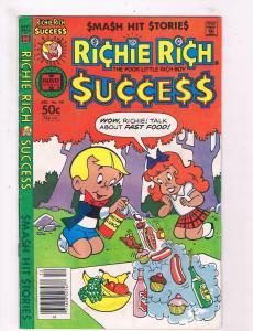 Richie Rich Success #101 VG Harvey Copper Age 1981 Comic Book Poor Rich DE1