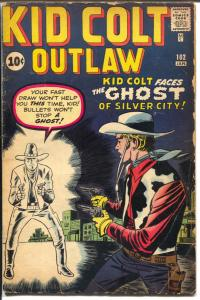 Kid Colt Outlaw #102 1961-Marvel-Jack Kirby cover-VG-