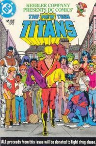New Teen Titans (1983 series) #1, VF (Stock photo)