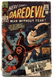 Daredevil #7 1964 1st Red Costume issue comic book Marvel-Sub-Mariner