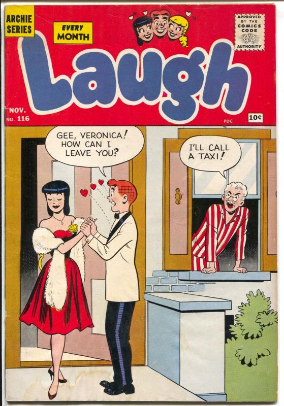 Laugh #116 1960-Archie-Betty-Veronica-Katy Keene-G/VG