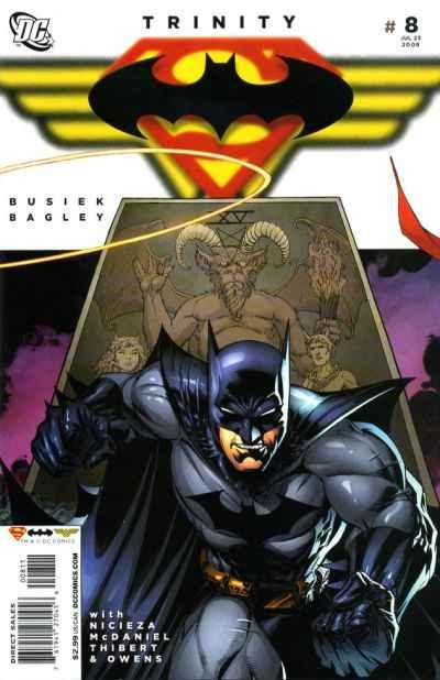 Trinity (2008 series) #8, VF- (Stock photo)
