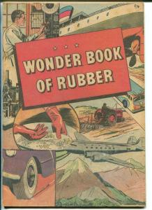 Wonder Book of Rubber 1950-B F Goodrich giveaway-newsprint-VG
