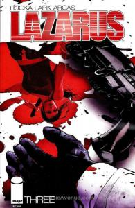 Lazarus (2nd Series) #3 VF; Image | save on shipping - details inside