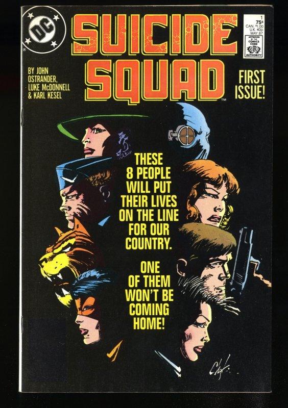 Suicide Squad (1987) #1 NM- 9.2
