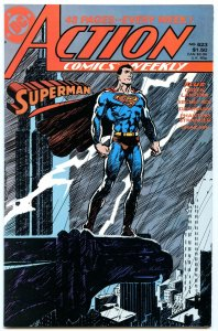 Action Comics Weekly 623 Oct 1988 NM- (9.2)