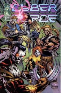 Cyberforce (Vol. 2) #16 VF/NM; Image | save on shipping - details inside