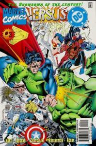 DC versus Marvel #3, NM + (Stock photo)