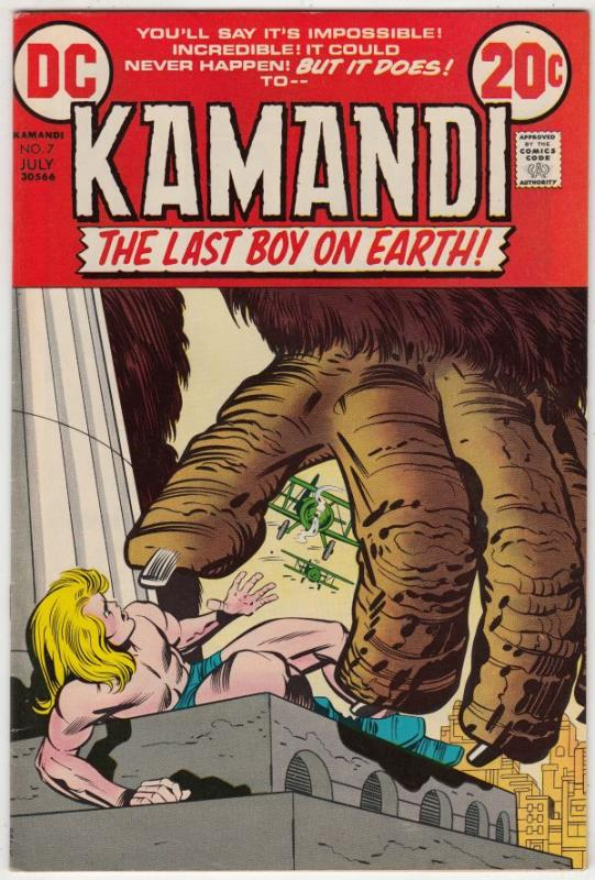 Kamandi the Last Boy on Earth #7 (Jul-73) NM/NM- High-Grade Kamandi