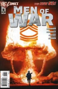 Men of War (2nd Series) #6 FN; DC | save on shipping - details inside