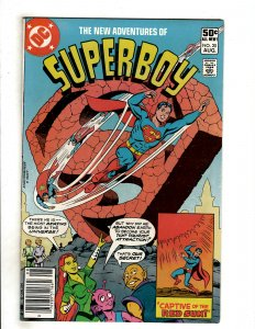 The New Adventures of Superboy #20 (1981) DC Comic Superman OF8