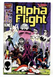 ALPHA FLIGHT #33-comic book MARVEL COMICS-1st LADY DEATHSTRIKE NM-