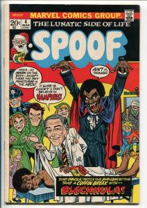 SPOOF #4 1973-MARVEL-MAD COMICS IMITATOR-BLACKULA-VAMPIRES-fn